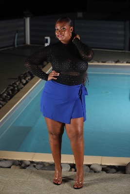 SHORT WRAP GRANDE TAILLE