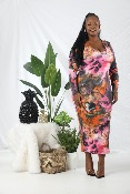 ROBE NEVER TOO COLORFUL GRANDE TAILLE